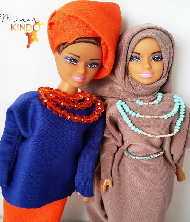 selfie poupee africaine